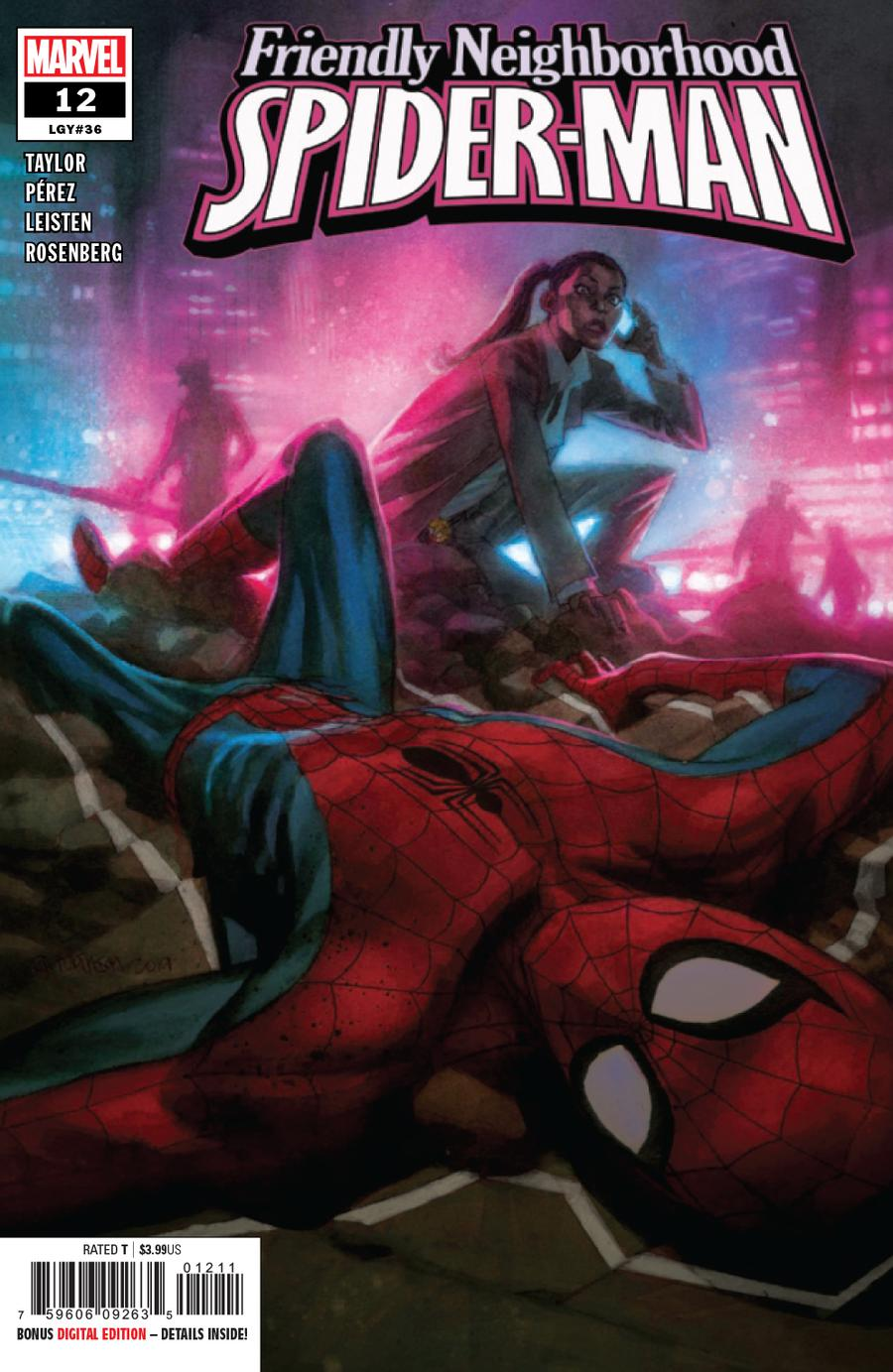 Friendly Neighborhood Spider-Man Vol 2 #12 Cover A Regular Andrew C Robinson Cover