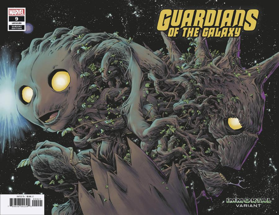 Guardians Of The Galaxy Vol 5 #9 Cover B Variant Declan Shalvey Immortal Wraparound Cover