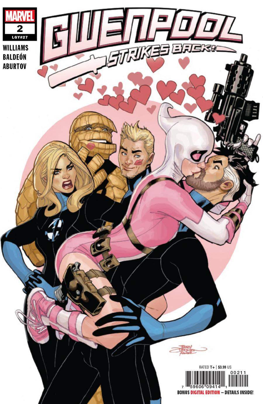 Gwenpool Strikes Back #2 Cover A Regular Terry Dodson Cover