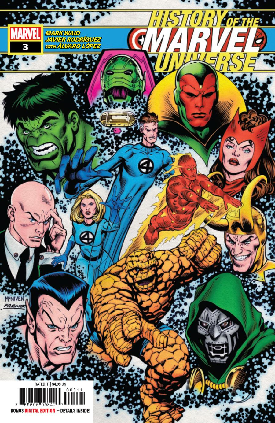 History Of The Marvel Universe #3 Cover A Regular Steve McNiven Cover