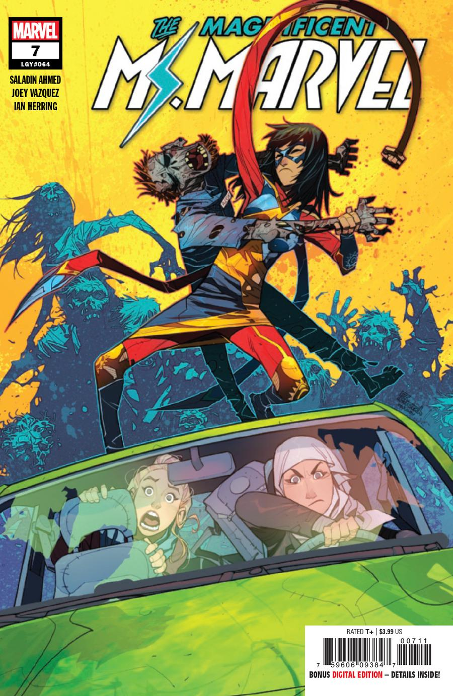 Magnificent Ms Marvel #7 Cover A 1st Ptg