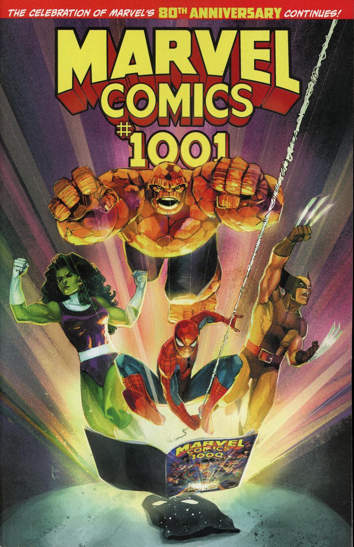 Marvel Comics #1001 Cover A Regular Rod Reis Cover