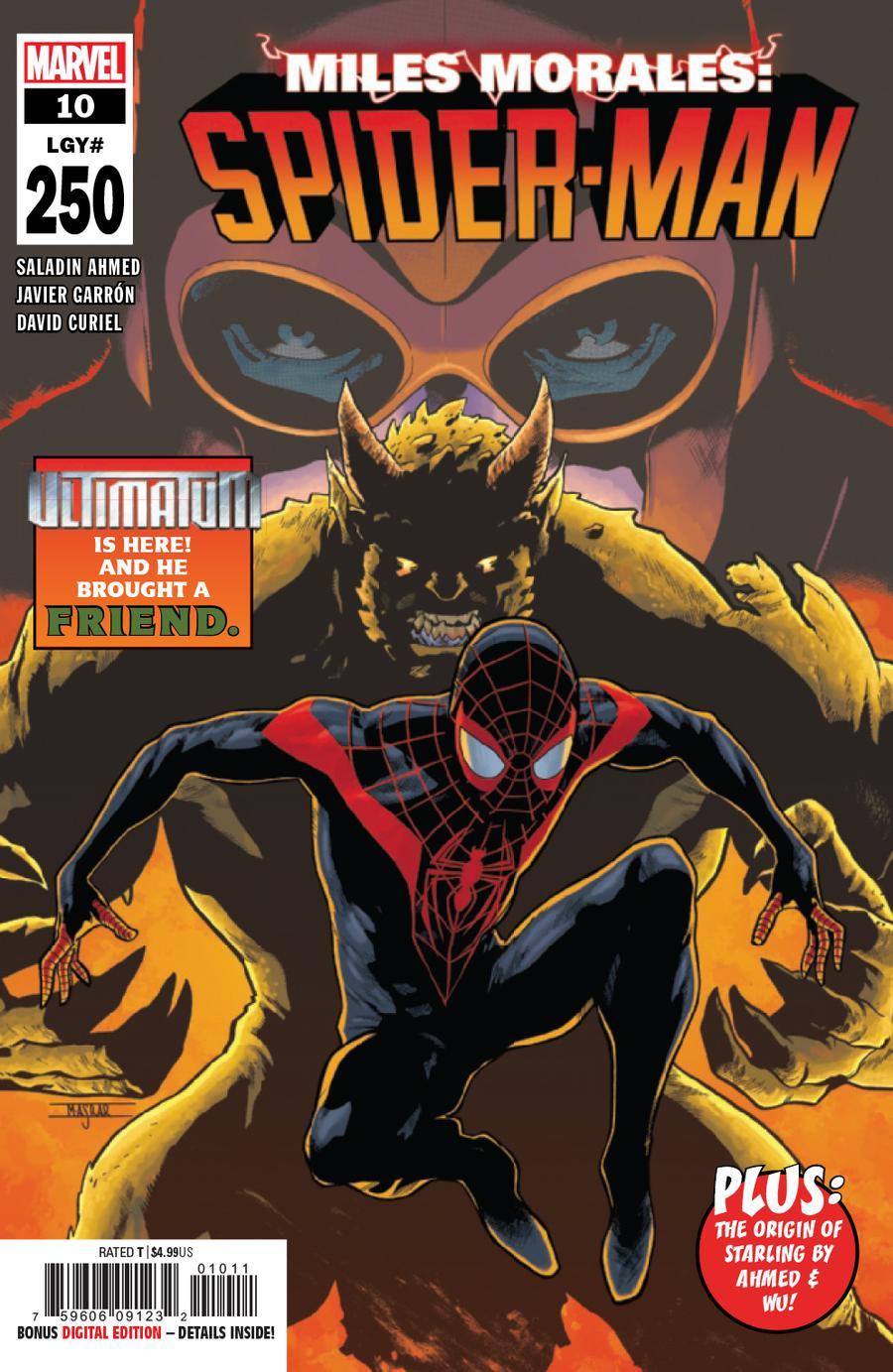 Miles Morales Spider-Man #10 Cover A 1st Ptg Regular Mahmud Asrar Cover