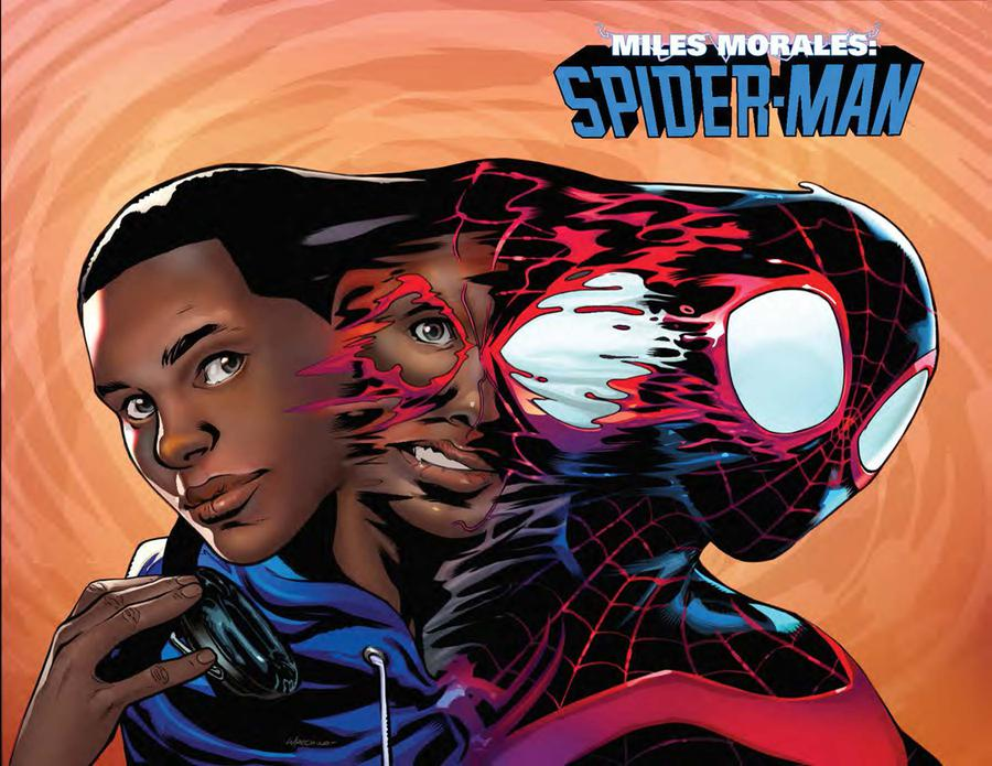 Miles Morales Spider-Man #10 Cover B Variant Emanuela Lupacchino Immortal Wraparound Cover