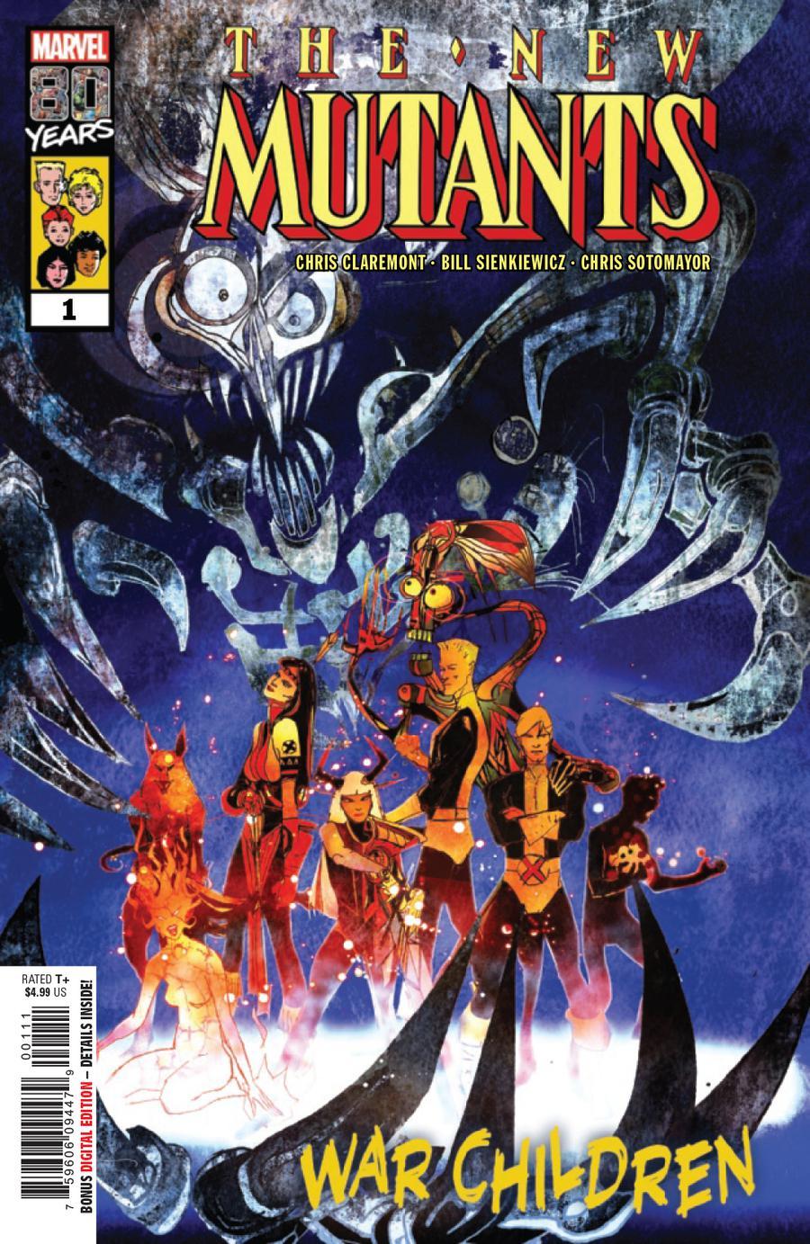 New Mutants War Children #1 Cover A 1st Ptg Regular Bill Sienkiewicz Cover