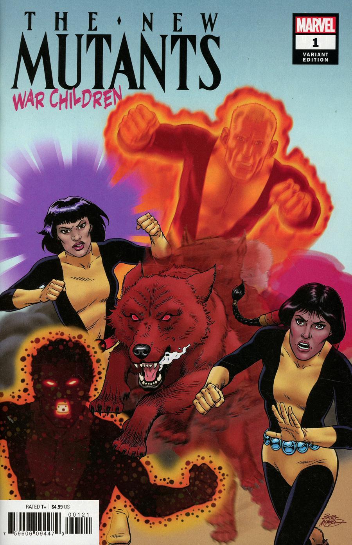 New Mutants War Children #1 Cover B Variant Bob McLeod Cover