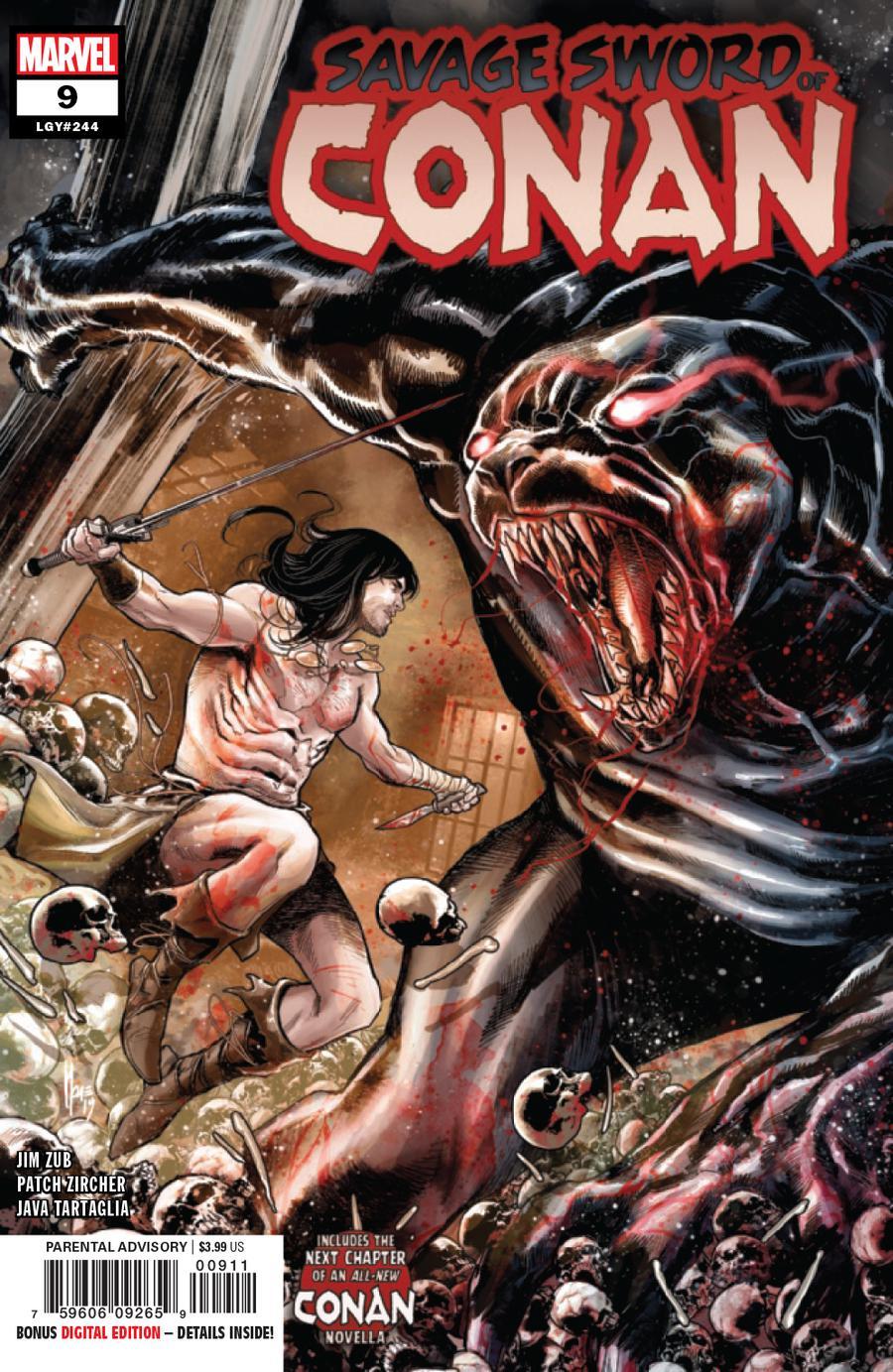 Savage Sword Of Conan #9 Cover A Regular Marco Checchetto Cover