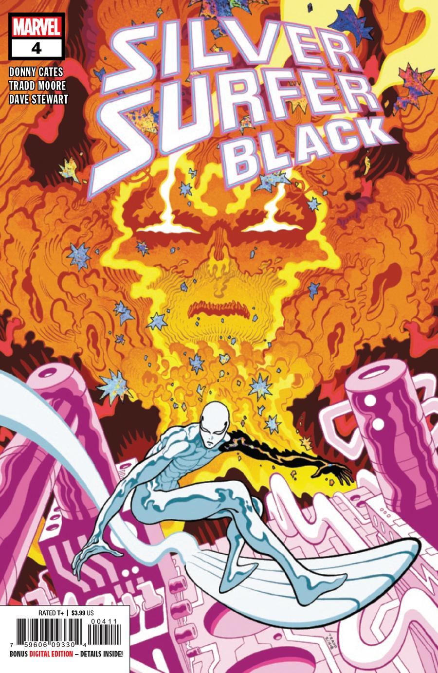Silver Surfer Black #4 Cover A 1st Ptg Regular Tradd Moore Cover