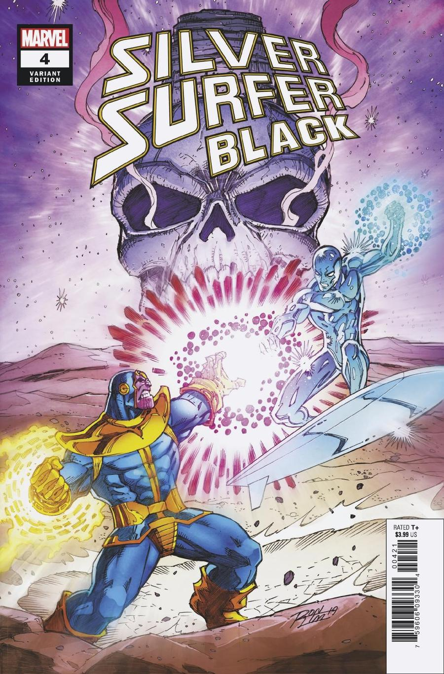 Silver Surfer Black #4 Cover C Variant Ron Lim Cover
