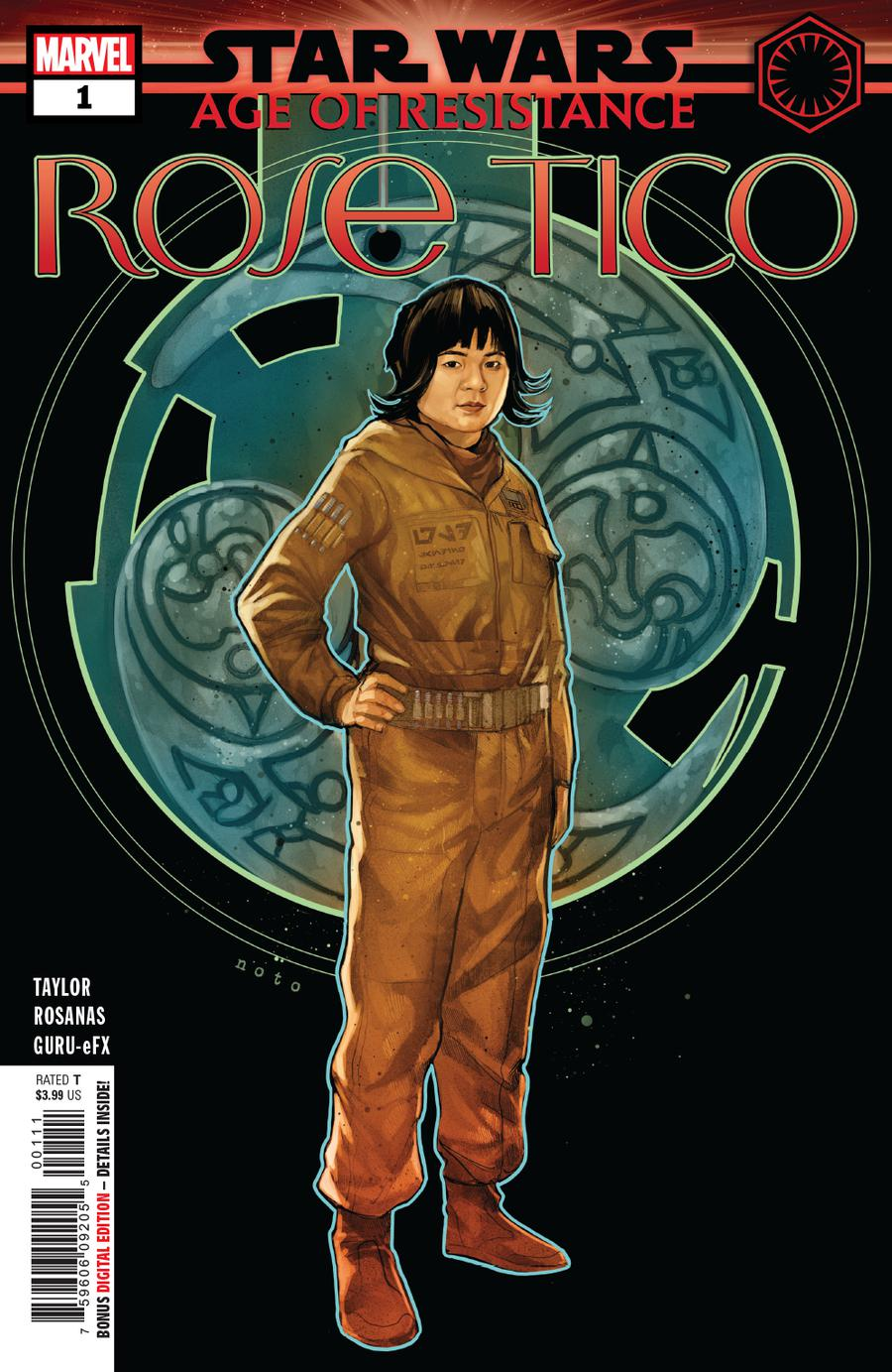Star Wars Age Of Resistance Rose Tico #1 Cover A Regular Phil Noto Cover
