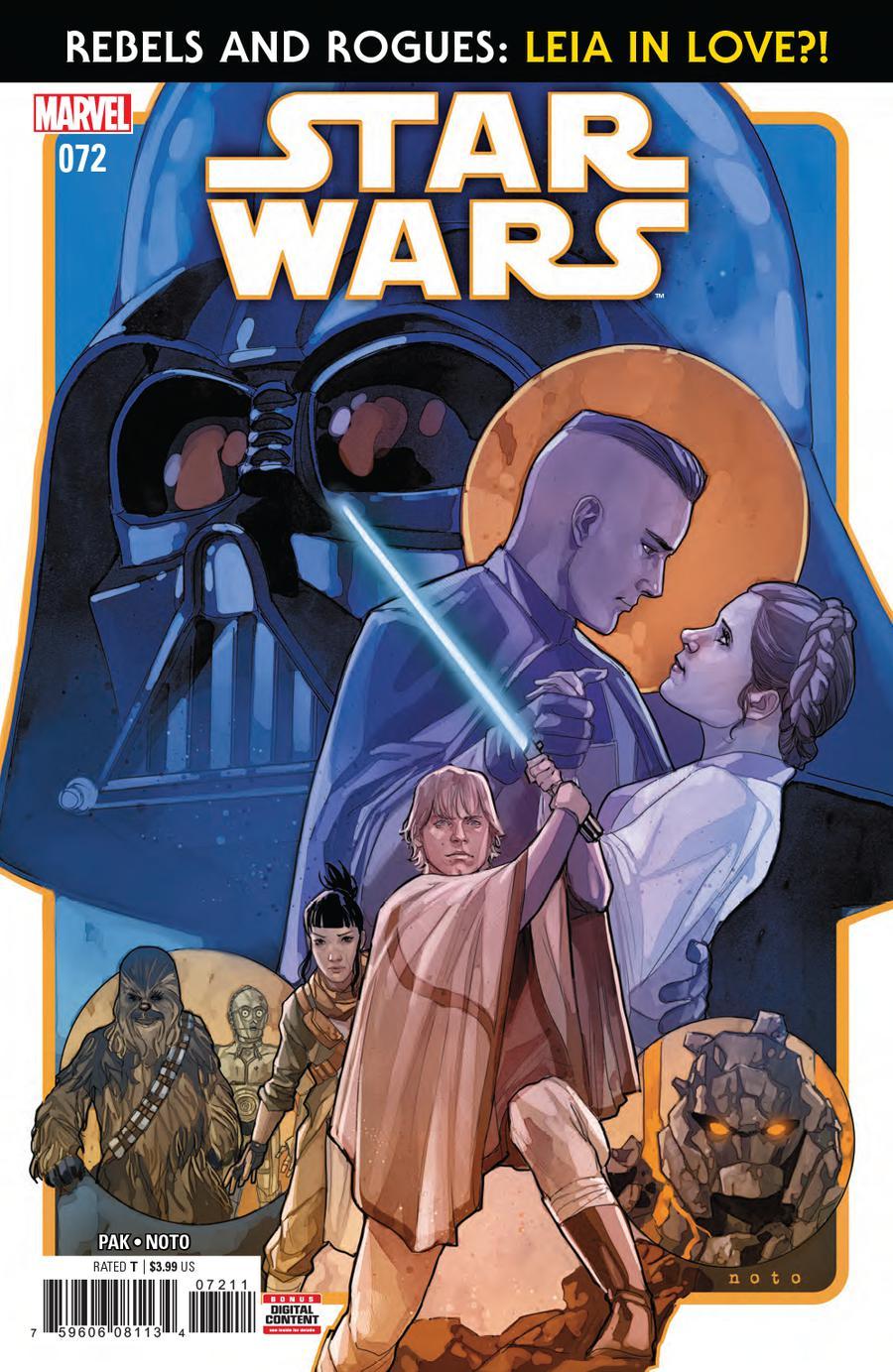 Star Wars Vol 4 #72 Cover A Regular Phil Noto Cover