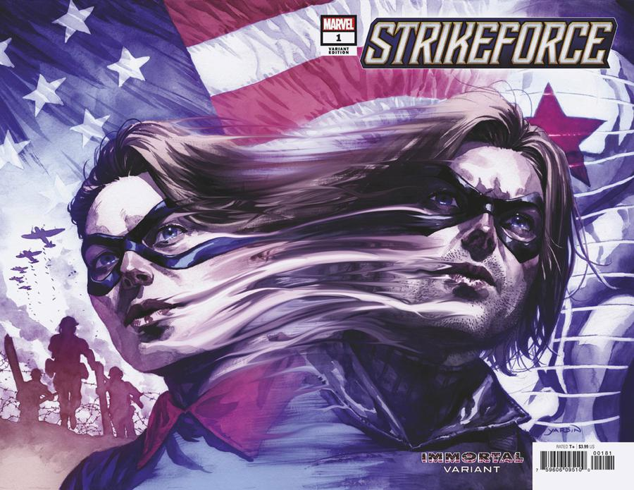 Strikeforce #1 Cover D Variant David Yardin Immortal Wraparound Cover
