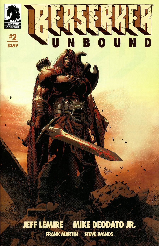 Berserker Unbound #2 Cover A Regular Mike Deodato Jr Cover
