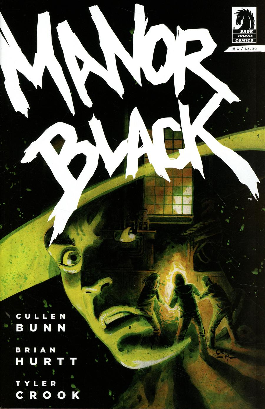 Manor Black #3 Cover A Regular Tyler Crook Cover