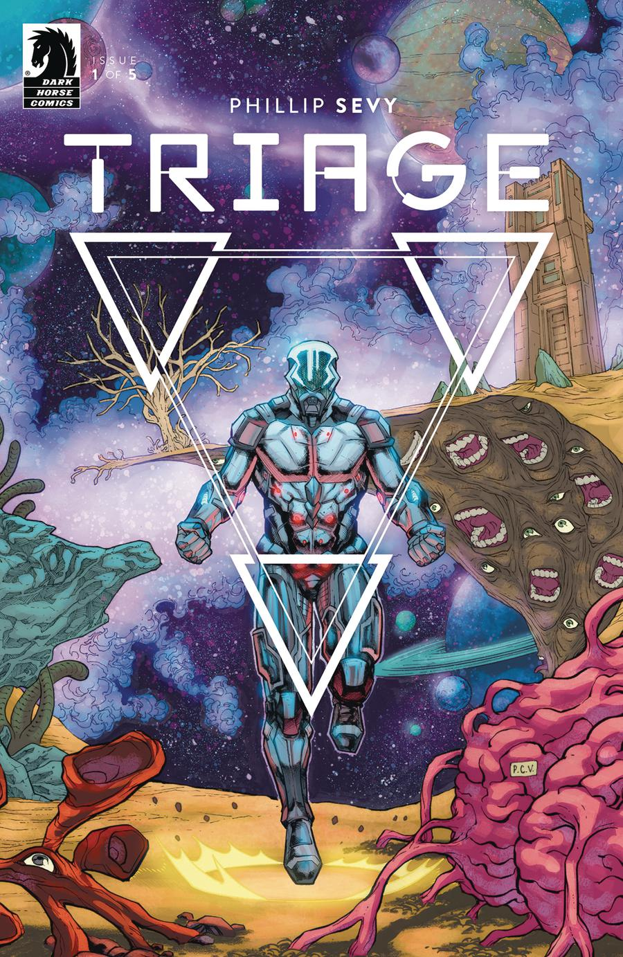 Triage #1 Cover A Regular Phillip Sevy Cover