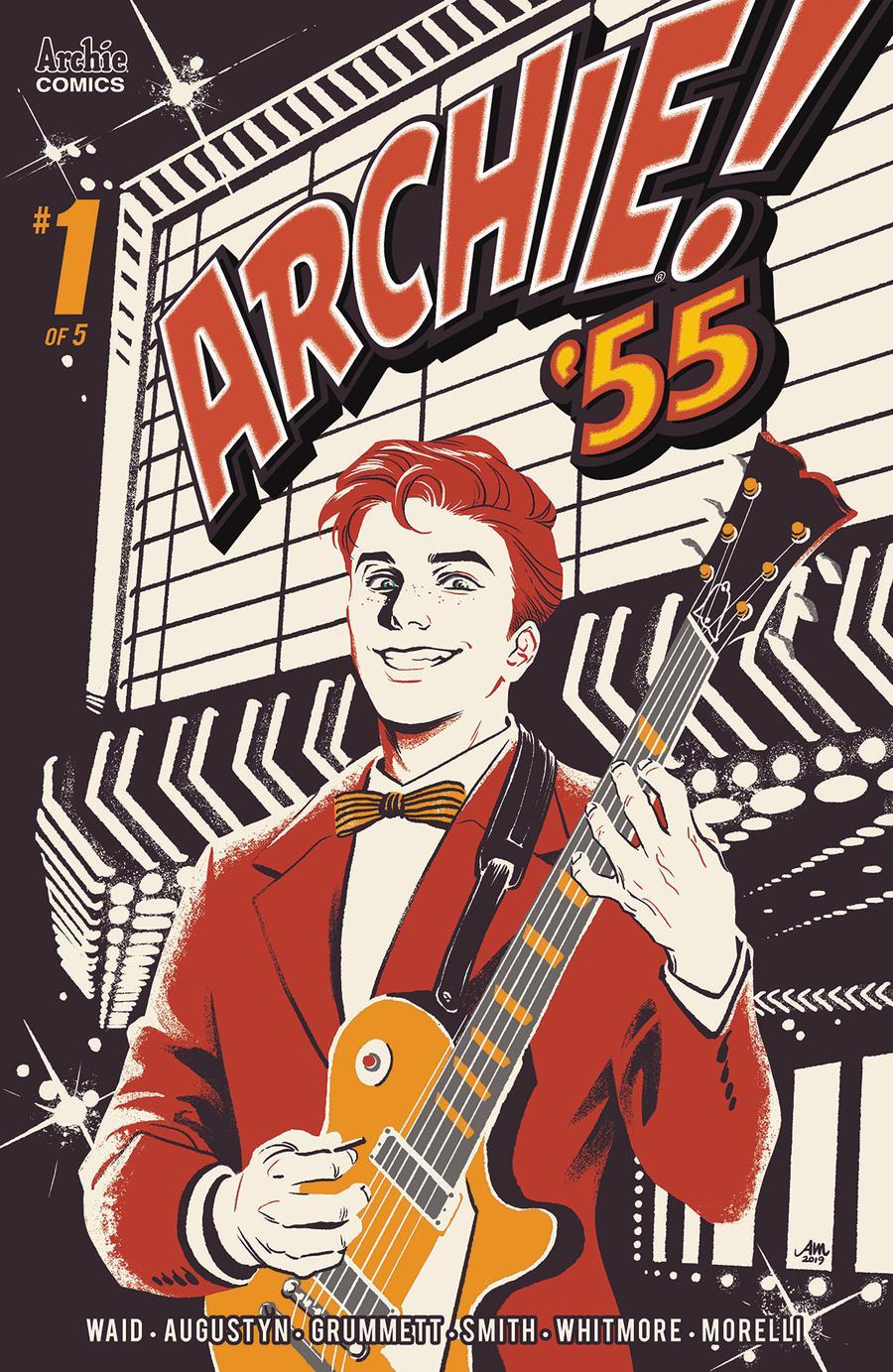 Archie 1955 #1 Cover A Regular Audrey Mok Cover