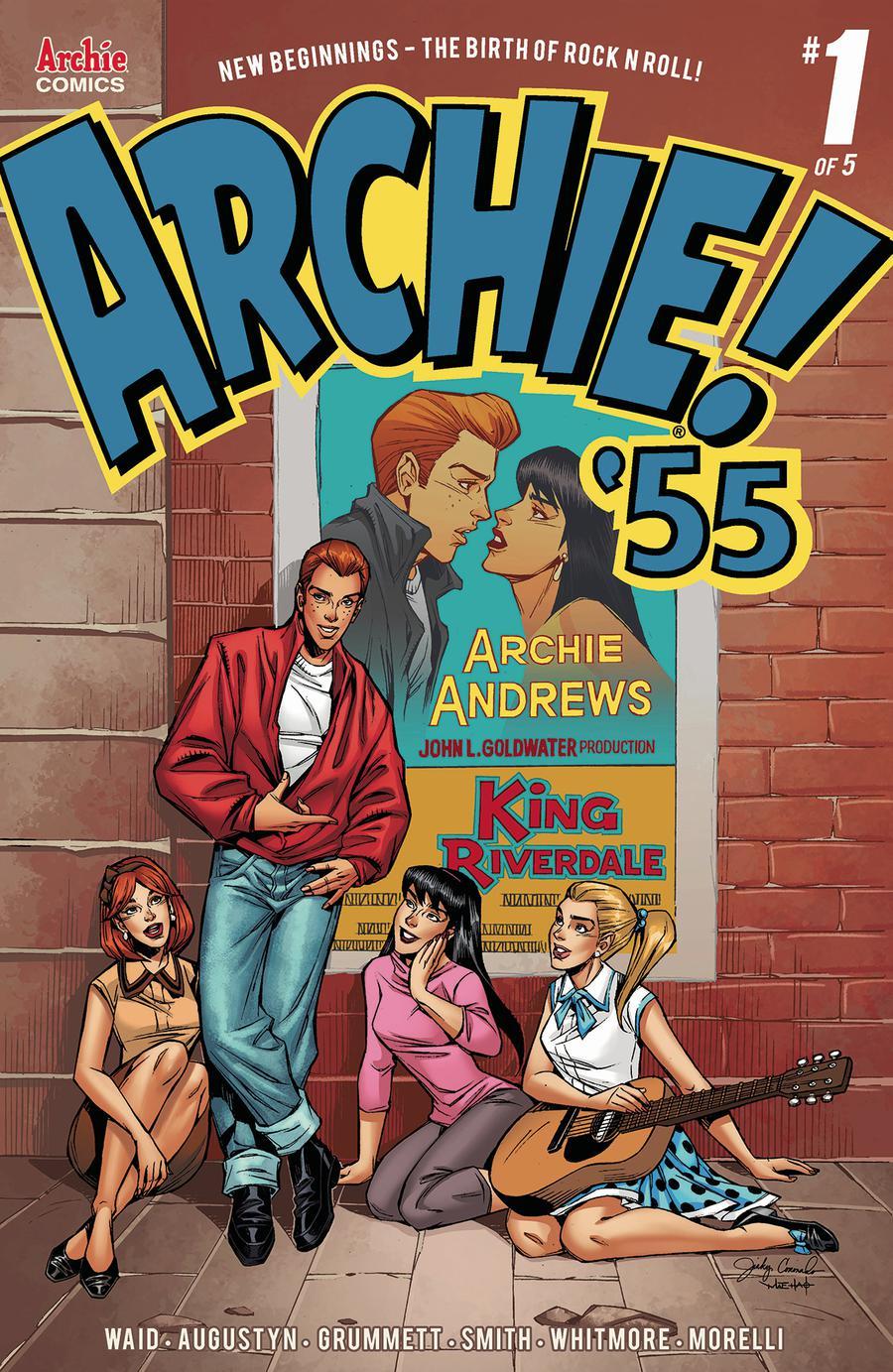 Archie 1955 #1 Cover B Variant Jinky Coronado Cover