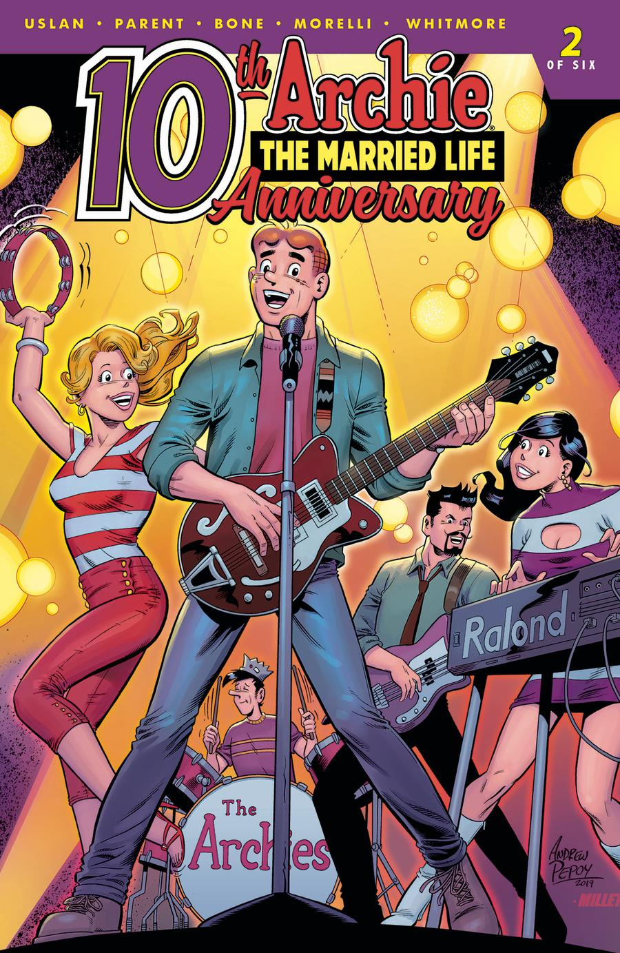 Archie The Married Life 10th Anniversary #2 Cover C Variant Andre Pepoy & Jason Millet Cover