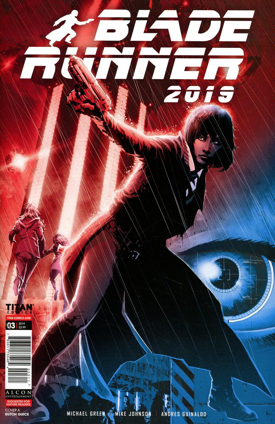 Blade Runner 2019 #3 Cover A Regular Butch Guice Cover