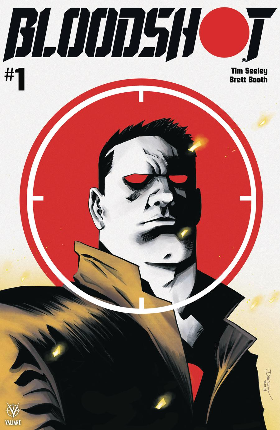 Bloodshot Vol 4 #1 Cover A Regular Declan Shalvey Cover