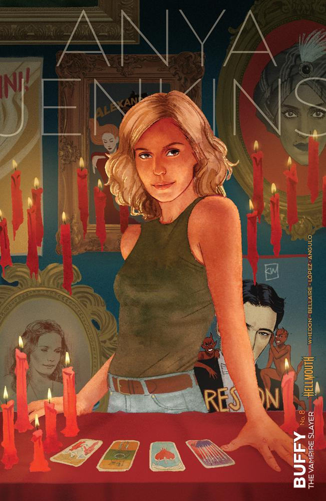 Buffy The Vampire Slayer Vol 2 #8 Cover B Variant Kevin Wada Cover