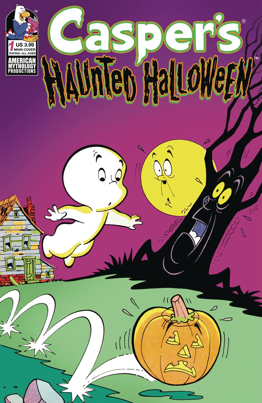 Caspers Haunted Halloween #1 Cover A Regular Cover