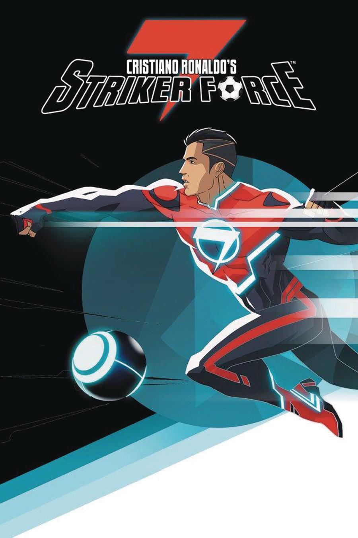 Cristiano Ronaldos Striker Force 7 Special Collector Edition #1 Cover E Variant Jeevan Kang Ultra Rare A Cover