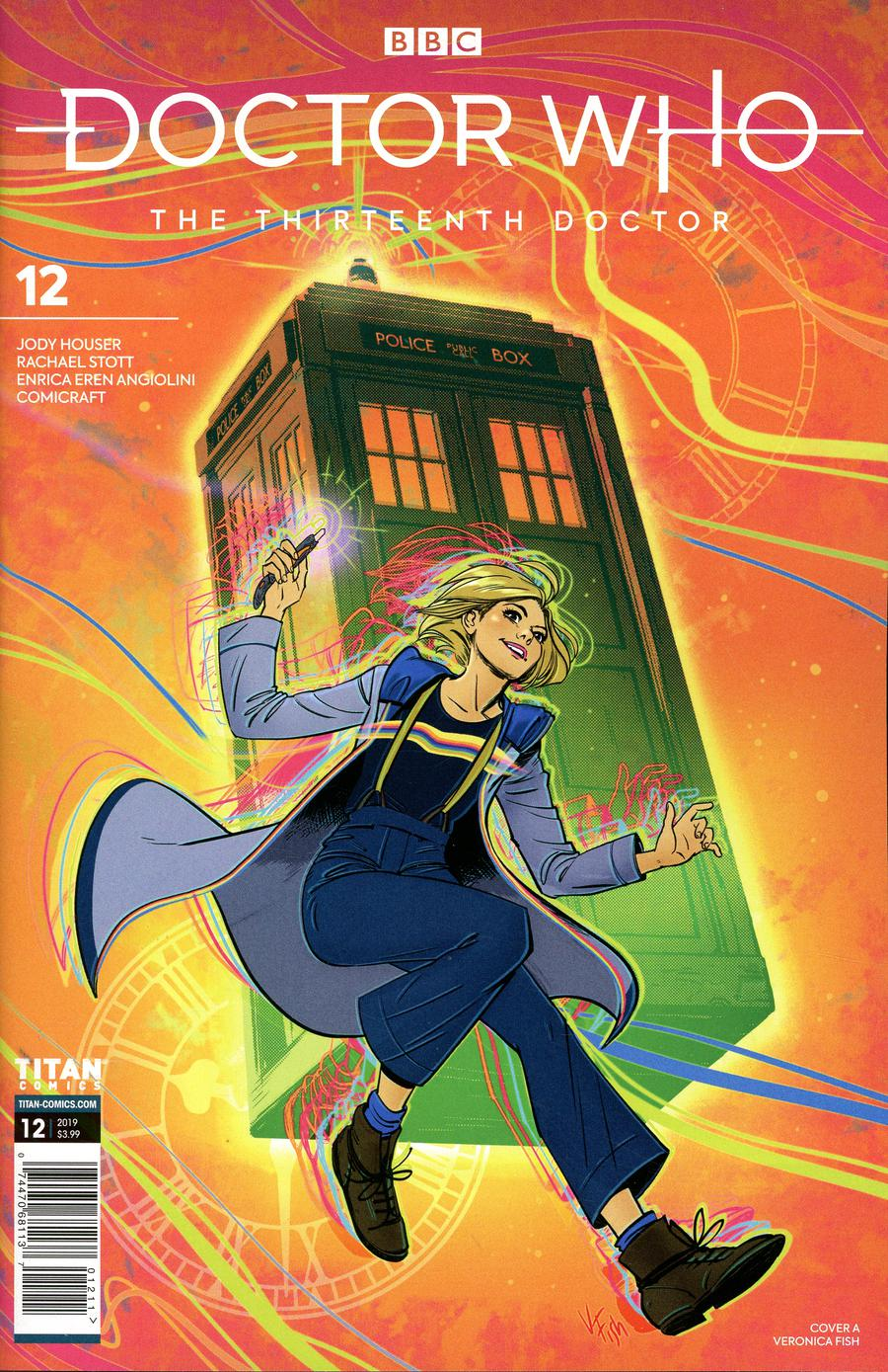 Doctor Who 13th Doctor #12 Cover A Regular Veronica Fish Cover
