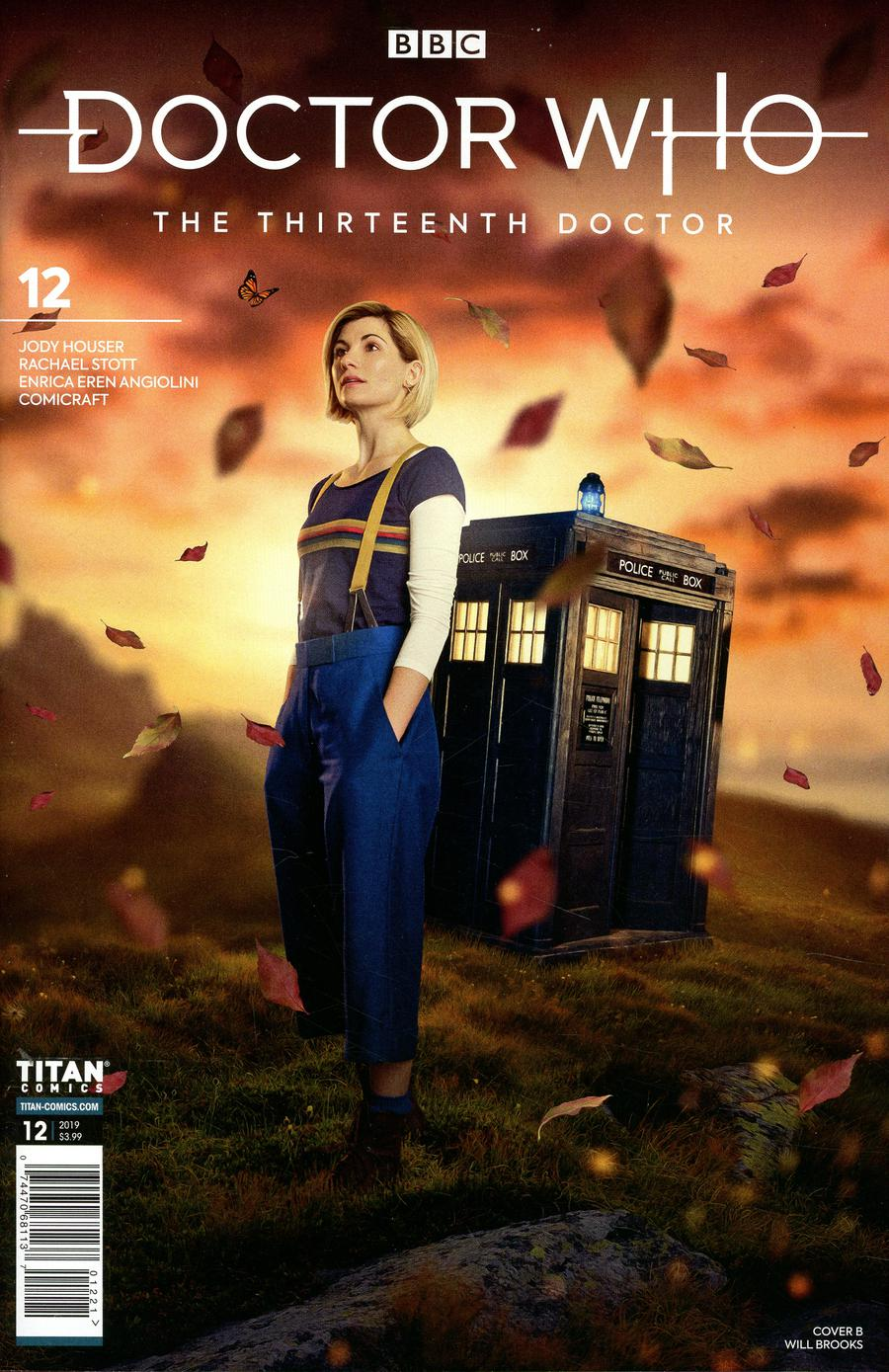 Doctor Who 13th Doctor #12 Cover B Variant Photo Cover