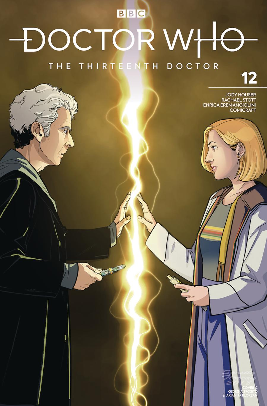Doctor Who 13th Doctor #12 Cover C Variant 12th Doctor Cover