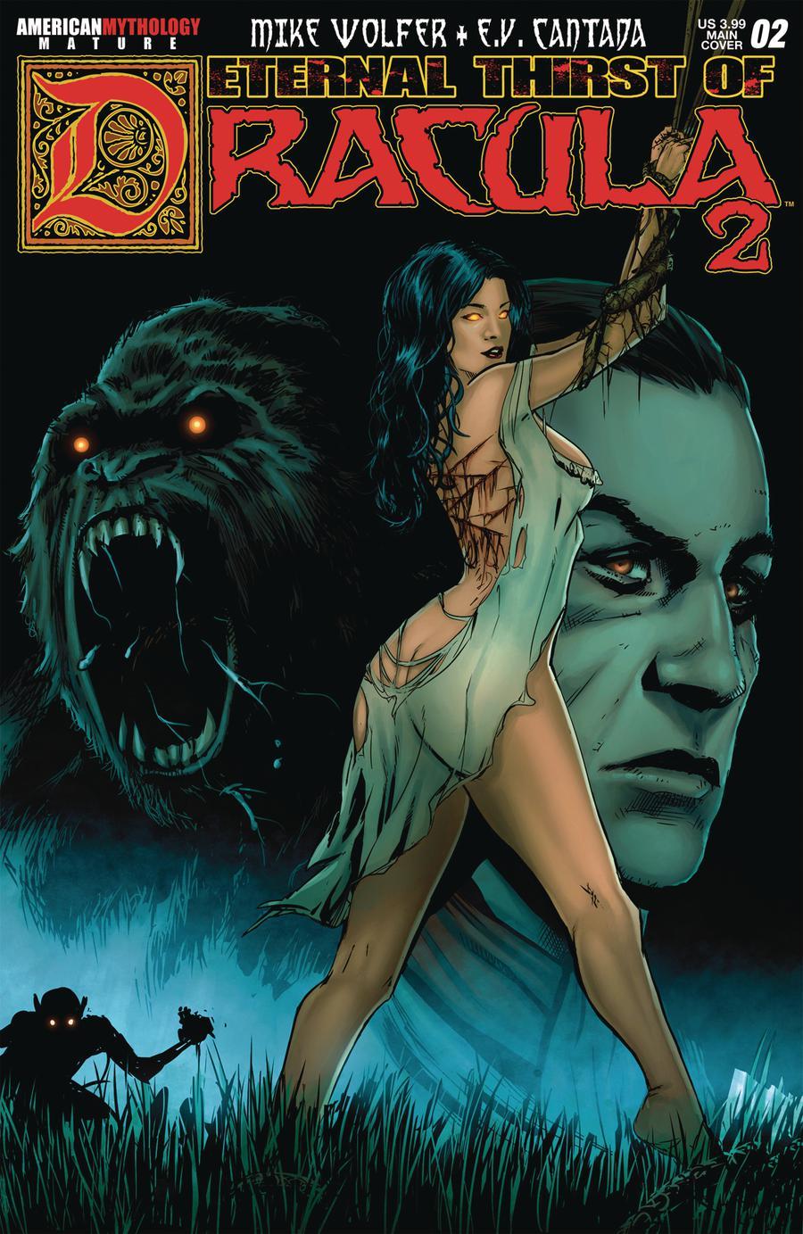Eternal Thirst Of Dracula Book 2 #2 Cover A Regular Jomar Bulda Cover
