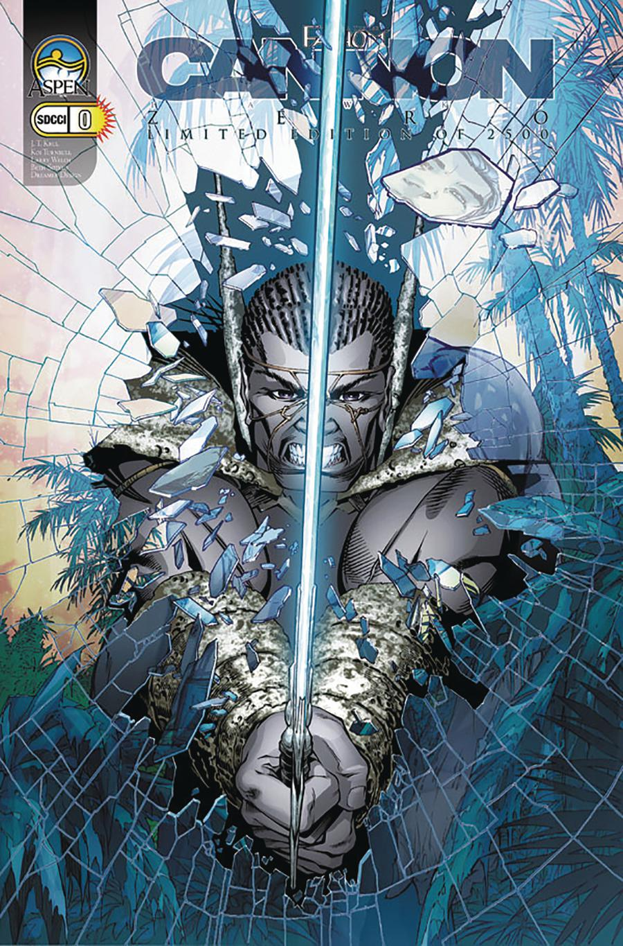 Fathom Cannon Hawke #0 Cover D SDCC 2005 Exclusive Limited Edition Koi Turnbull Variant Cover