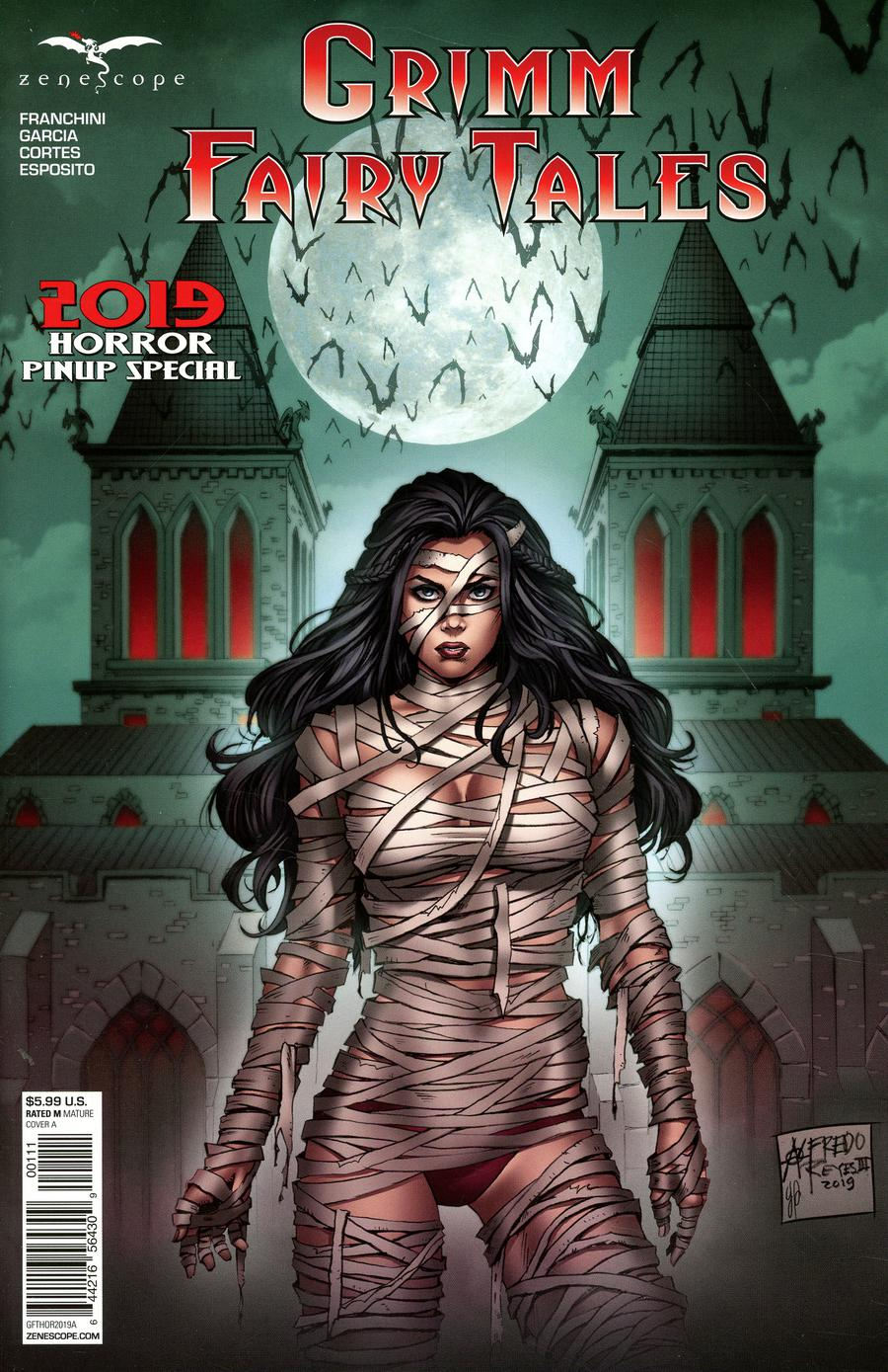 Grimm Fairy Tales Presents Horror Pinup Special 2019 One Shot Cover A Alfredo Reyes