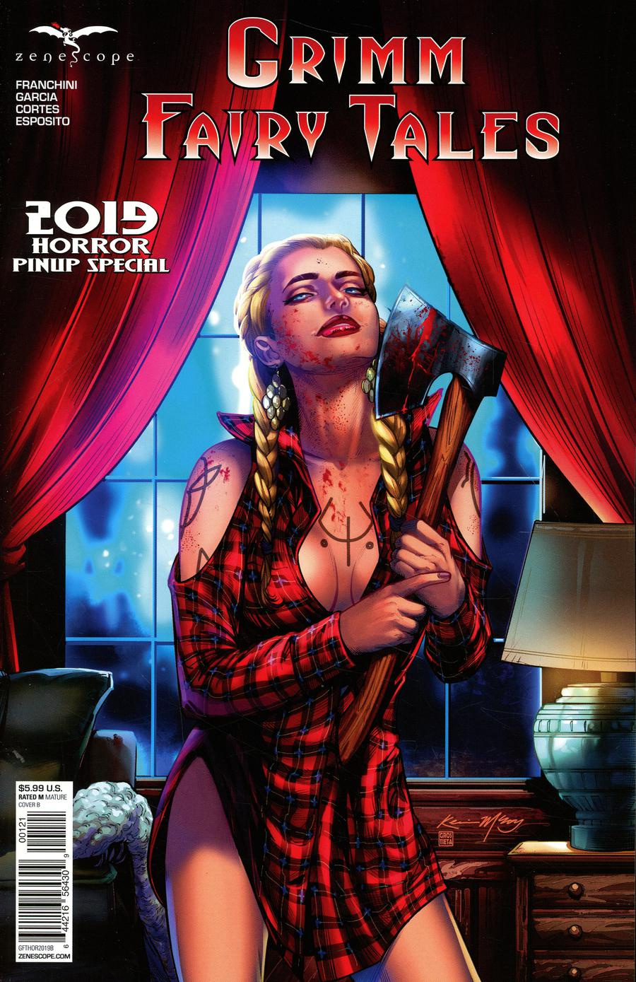 Grimm Fairy Tales Presents Horror Pinup Special 2019 One Shot Cover B Kevin McCoy