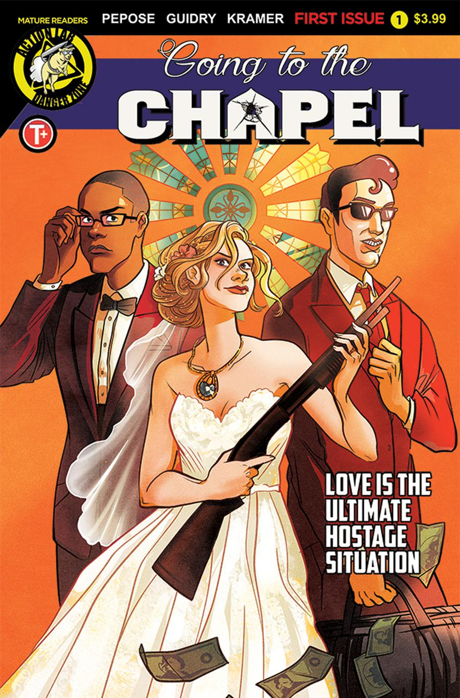 Going To The Chapel #1 Cover A Regular Lisa Sterle Cover