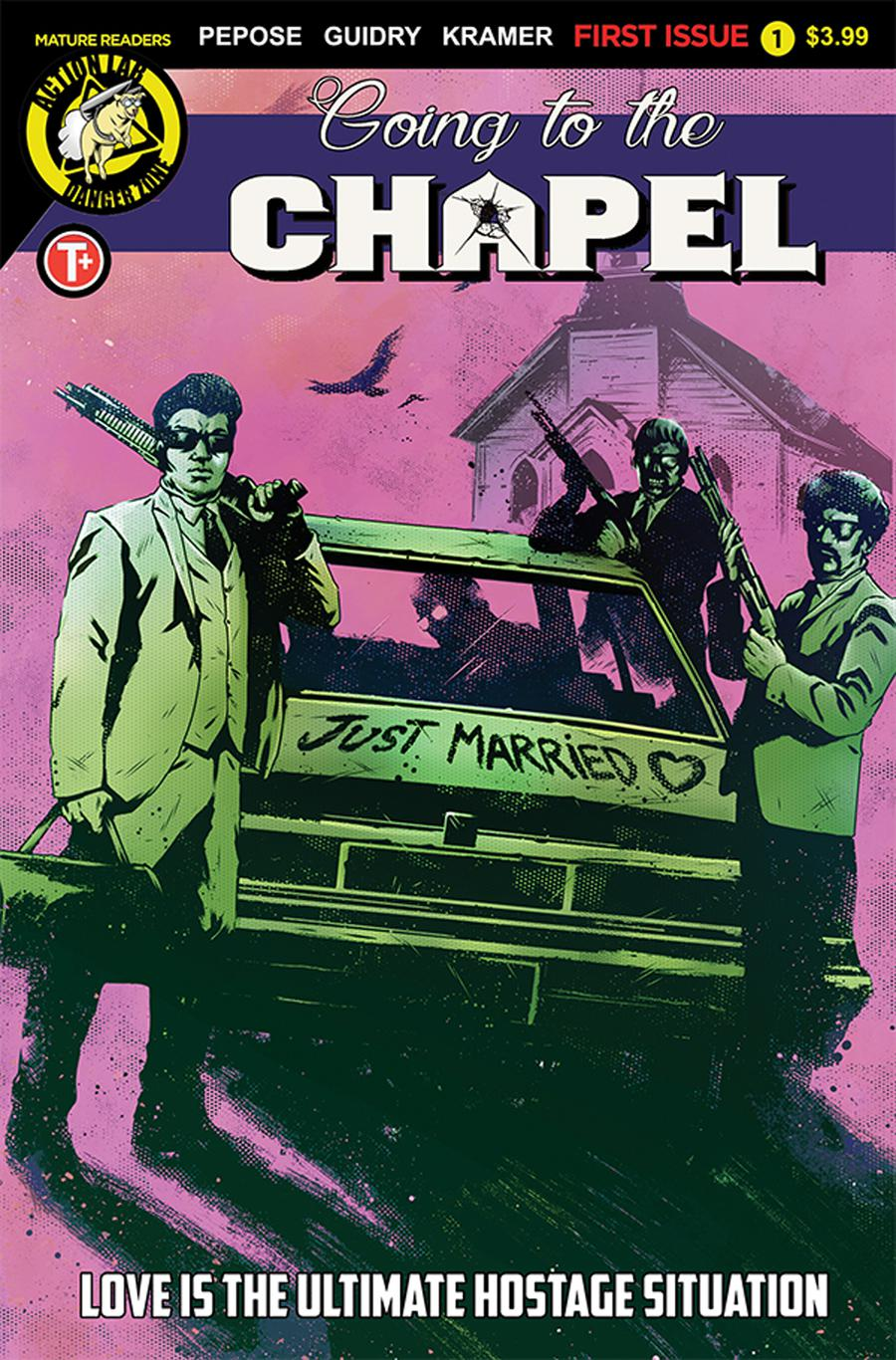 Going To The Chapel #1 Cover B Variant Maan House Cover