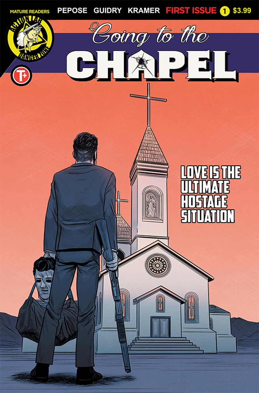 Going To The Chapel #1 Cover C Variant Gavin Guidry Cover
