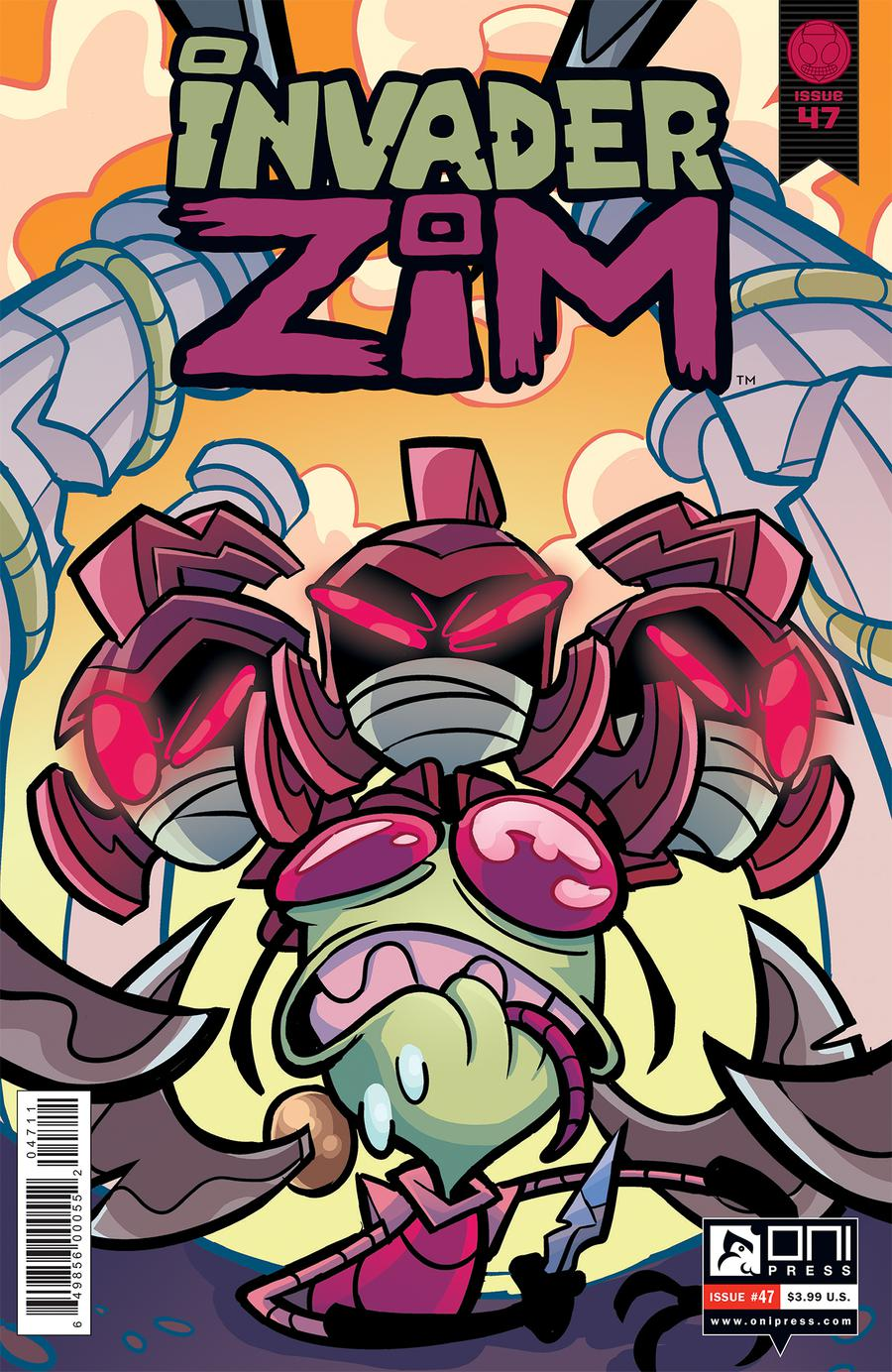 Invader Zim #47 Cover A Regular Maddie C & Fred C Stresing Cover