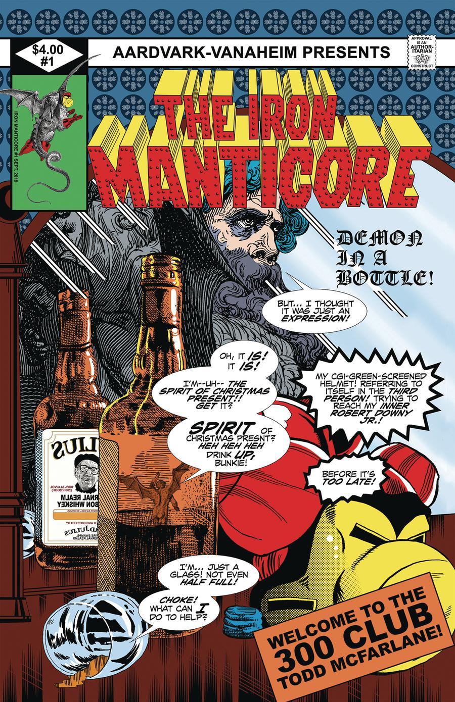 Iron Manticore One Shot