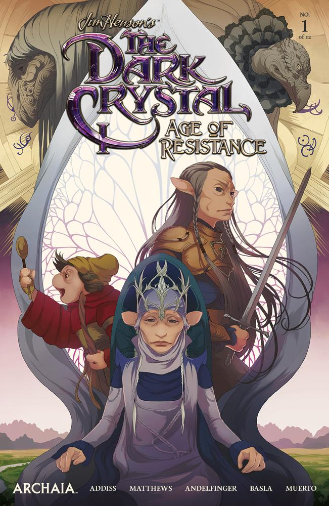 Jim Hensons Dark Crystal Age Of Resistance #1 Cover A Regular Mona Finden Cover