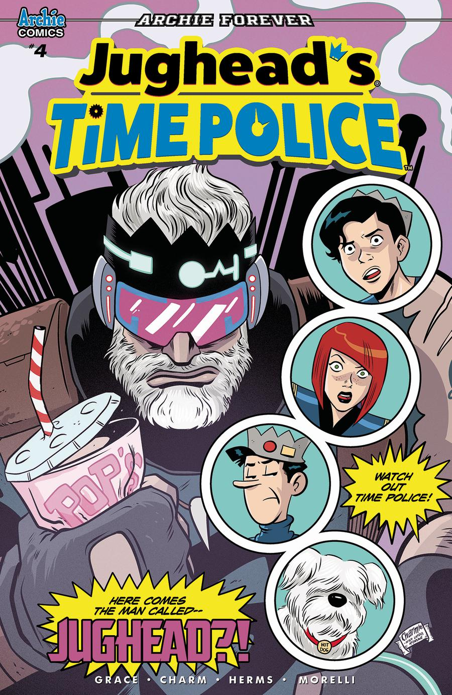 Jugheads Time Police Vol 2 #4 Cover A Regular Derek Charm Cover