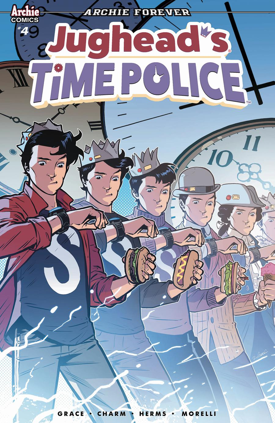 Jugheads Time Police Vol 2 #4 Cover B Variant Rebekah Isaacs & Matt Herms Cover