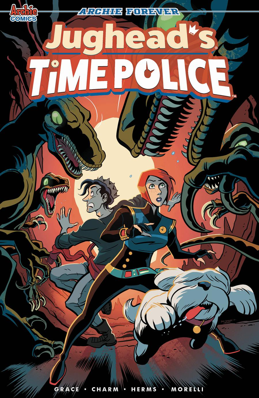 Jugheads Time Police Vol 2 #4 Cover C Variant Dan Schkade & Matt Herms Cover