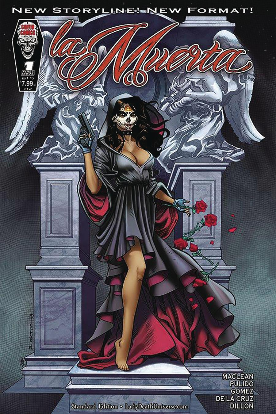 La Muerta Ascension One Shot Cover A Regular Richard Ortiz Cover