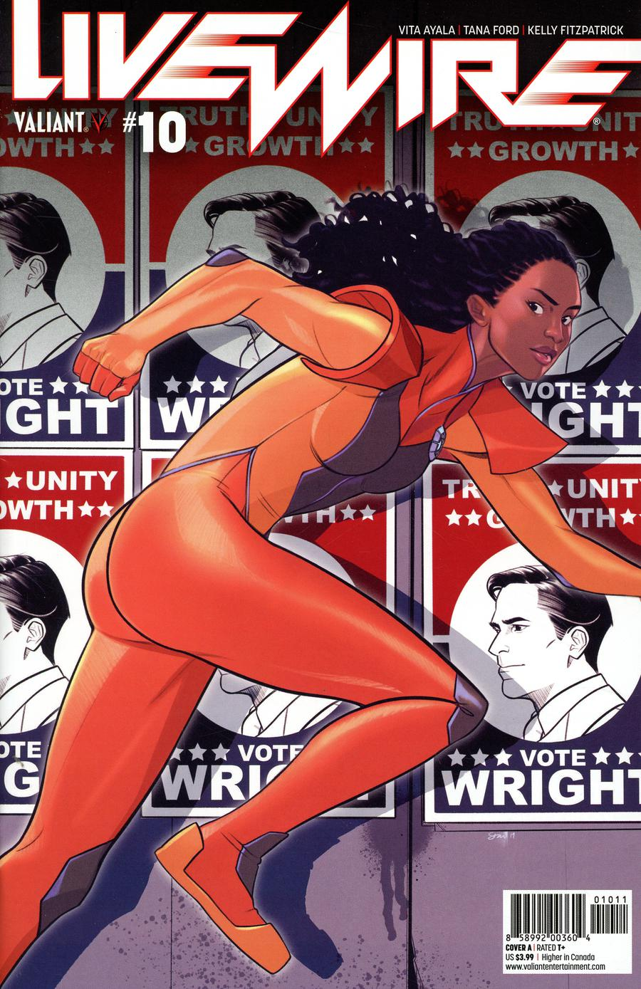 Livewire #10 Cover A Regular Stacey Lee Cover