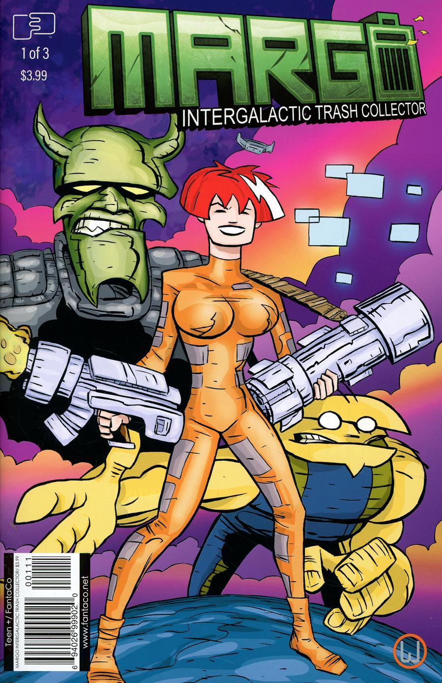 Margo Intergalactic Trash Collector #1 Cover A Regular Jim Whiting Cover