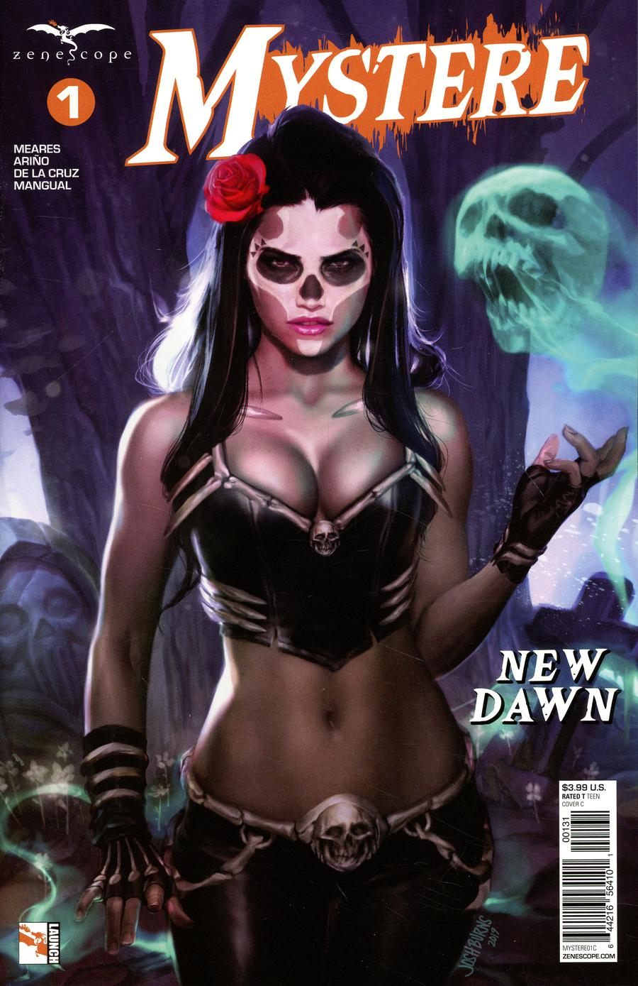Grimm Fairy Tales Presents Mystere #1 Cover C Josh Burns