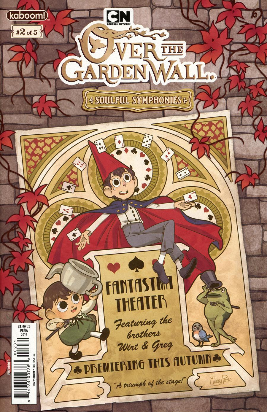 Over The Garden Wall Soulful Symphonies #2 Cover C Variant Missy Pena Preorder Cover