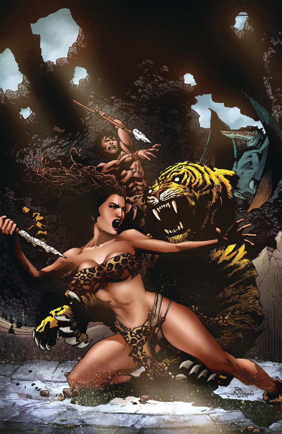 Pellucidar Wings Of Death #2 Cover C Limited Edition Roy Allan Martinez Virgin Cover