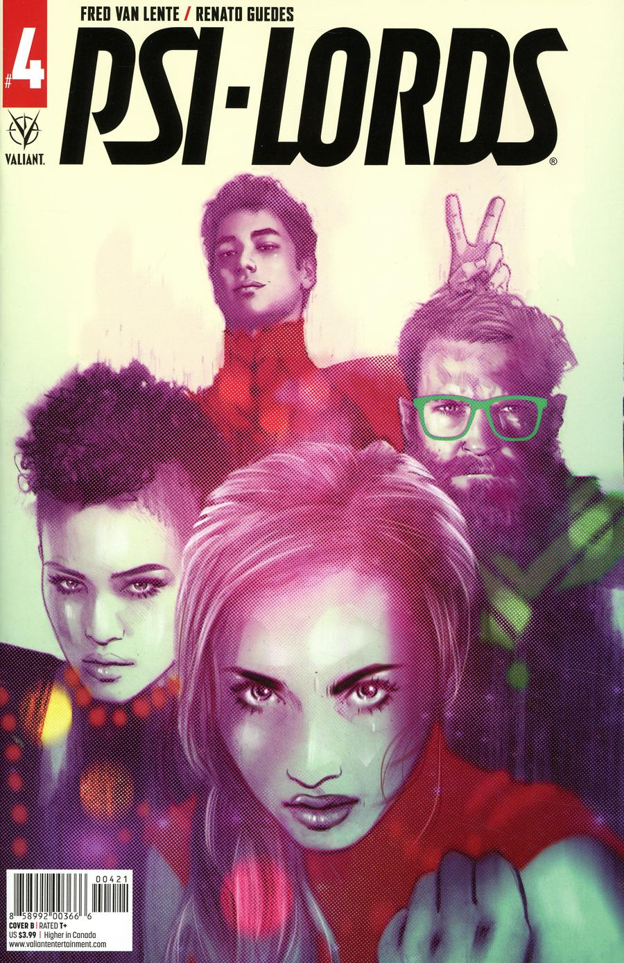 Psi-Lords Vol 2 #4 Cover B Variant Tula Lotay Cover